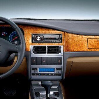 12โวลต์รถวิทยุสเตอริโอเครื่องเล่นวิทยุ Fm โดยอัตโนมัติเครื่องเสียงรถ MP3 รีโมทควบคุม (image 1)