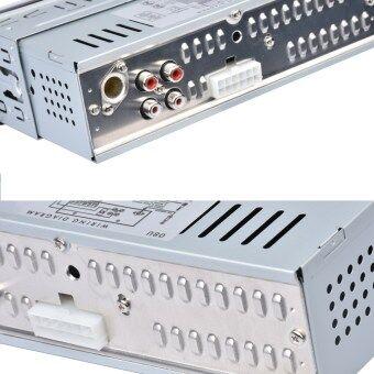 12โวลต์รถวิทยุสเตอริโอเครื่องเล่นวิทยุ Fm โดยอัตโนมัติเครื่องเสียงรถ MP3 รีโมทควบคุม (image 4)