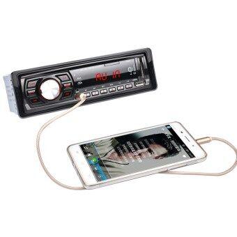 12โวลต์รถวิทยุสเตอริโอเครื่องเล่นวิทยุ Fm โดยอัตโนมัติเครื่องเสียงรถ MP3 รีโมทควบคุม (image 2)
