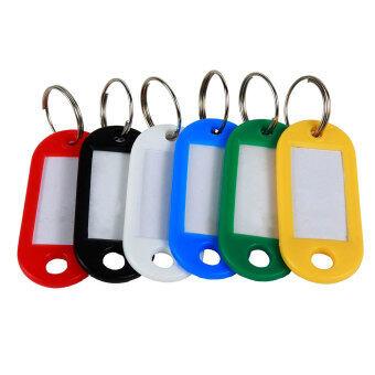 Leegoal คละสีพวงกุญแจพวงกุญแจพวงกุญแจติดบัตรด้วยป้ายหน้าต่าง