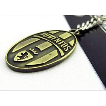 Harga Football Club Soccer Keychain Key Chain Ring souvenir Juventus - intl