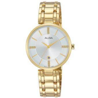 ALBA นาฬิกาข้อมือผู้หญิง สายสแตนเลส รุ่น AH7K58X1 (สีทอง)