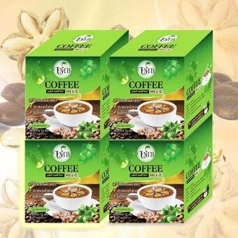 UMB Sacha Inchi Coffee Mix กาแฟถั่วดาวอินคา รสกลมกล่อม 4 กล่อง