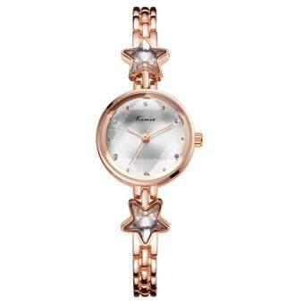 Kimio นาฬิกาข้อมือผู้หญิง สายสแตนเลส สีโรสด์โกล์ด / สีเงิน รุ่น KW6201