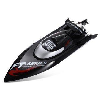 FeiLun FT012 2, 4G 4CH แข่งเรืออียูปลั๊ก Brushless อาร์ซี (สีดำ)
