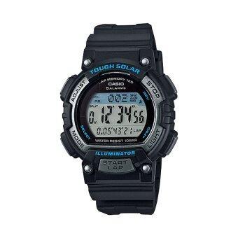 Casio Standard นาฬิกาข้อมือผู้หญิง สายเรซิน รุ่น STL-S300H-1ADF (Black/Blue)