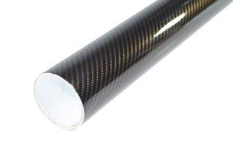 Alicar สติ๊กเกอร์เคฟล่า 2D - สีดำทอง (2 เมตร)