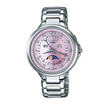 Casio Sheen Multi-hand นาฬิกาข้อมือ Stainless Strap รุ่น SHE-3044D-4A