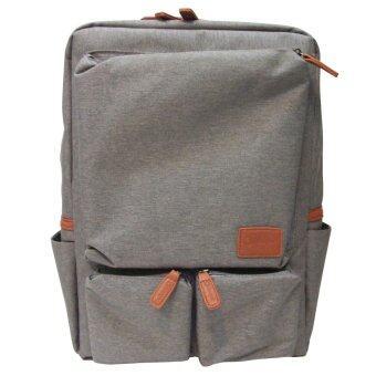 IDEAPAC LABTOP BAG กระเป๋าเป้ ใส่์์โน๊ตบุ๊ค แท๊ปเลต อื่นๆ กันน้ำ รุ่น IDEA-015 (สีเทา)
