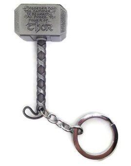 Cool no.9 พวงกุญแจค้อนธอร์ (สีเงิน)