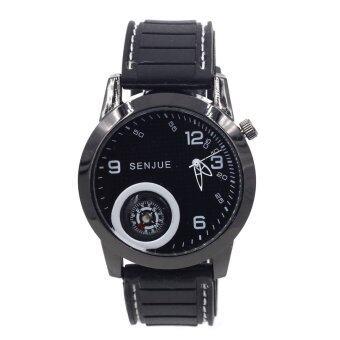 ADVANTURE นาฬิกาข้อมือผู้ชาย รุ่น เข็มทิศ - GP9206 (Pure Black)