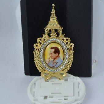 Pearl Jewelry เข็มกลัดในหลวง No.5 งานไทยคุณภาพเลิศ(Gold)