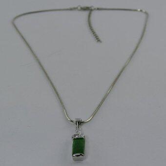 Pearl Jewelry สร้อยคอจี้หยกแท่ง JD16