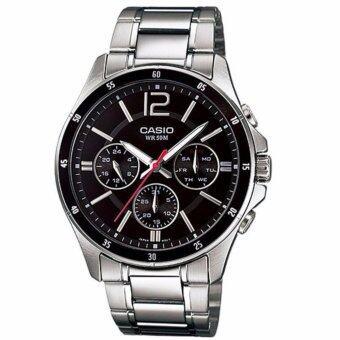 Casio Standard นาฬิกาข้อมือผู้ชาย สายแสตนเลส รุ่น MTP-1374D-1AV (สินค้าขายดี)