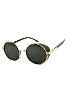 ไอ้แว่นกลมอบ Hequ เรโทร (พนมเปญสีดำ)