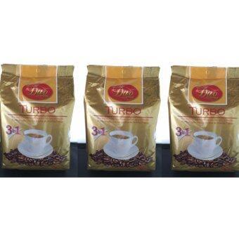 Dao Coffee ดาวคอฟฟี่ กาแฟ 3 อิน1 ( 3แพค) รสเทอร์โบ (Turbo)