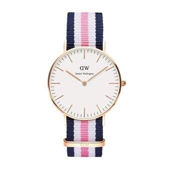 DW นาฬิกาแฟชั่น สายผ้านาโน