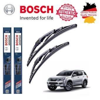 ใบปัดน้ำฝน Bosch Advantage ขนาด 19 นิ้ว และ 21 นิ้ว สำหรับ Isuzu Mu-X Year 13-
