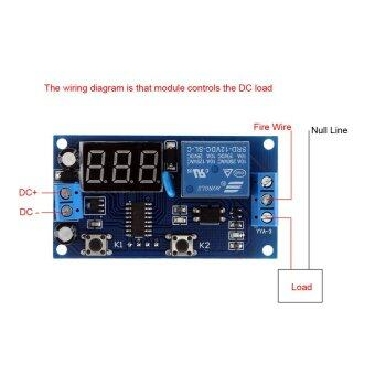 Harga Multifunction Delay Time Module Switch Control Relay Cycle Timer DC 12V