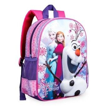 Harga VR_Tech 2015 Hot new girls schoolbag 3D cartoon beatiful lovely fashion backpack child kids bag quality student bags-Pink - intl