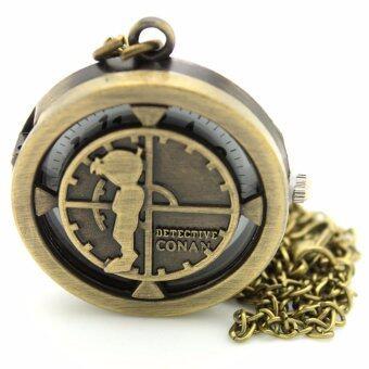 DBS นาฬิกาแฟชั่นสร้อยคอผู้หญิงและผู้ชายรูปเจ้าหนูน้อยจารชนยอดนักสืบ SKK-005