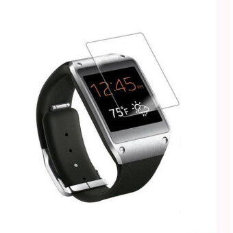 5 x ล้างฟิล์มกันรอยหน้าจอยามปกสำหรับ Samsung Galaxy Gear V700 เคลียร์