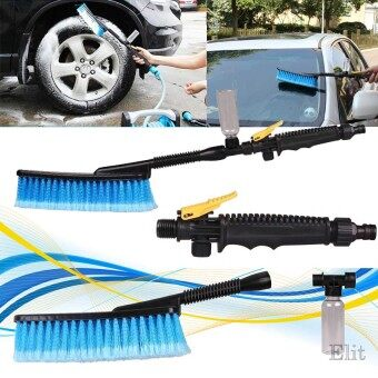 Elit แปรงล้างรถ พร้อมโฟม ขัด Car Wash Brush Water Auto Foam
