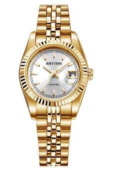 Rhythm (ริทึ่ม) นาฬิกาข้อมือผู้หญิง สายสแตนเลส รุ่น R1203S05 (Sliver)