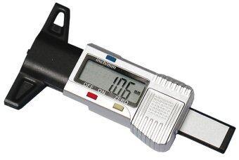 IT and Home เครื่องวัดความลึกของยางรถยนต์ วัดความสึกหรอยางรถยนต์ - สีเทา