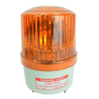 ไฟไซเรน ไฟฉุกเฉิน LTE-1121 12V. สีเหลือง