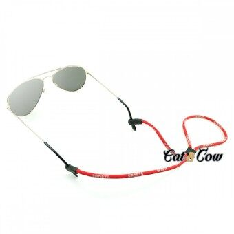 Cat & Cow รุ่น LC10-R, #สายคล้องแว่นตา Eyewear Retainer สีแดง