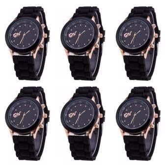 แพ็ค6ชิ้น Zazzy Dolls นาฬิกาข้อมือคู่หน้าปัดเลข๙ รุ่น ฉันเกิดในรัชกาลที่9 ZD-LOVEK9 สีดำ ใส่ได้ทั้งชายและหญิง คลาสสิคดีไซน์ นาฬิกาข้อมือคู่รัก นาฬิกาข้อมือผู้หญิง นาฬิกาข้อมือผู้ชาย นาฬิกาแฟชั่น