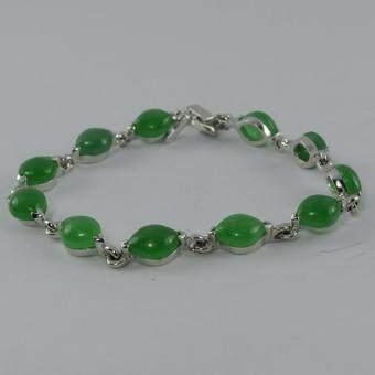Pearl Jewelry สร้อยข้อมือหินหยก7