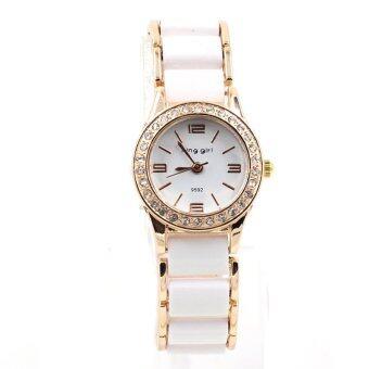 KIng girl นาฬิกาข้อมือผู้หญิง WP8125 (White)