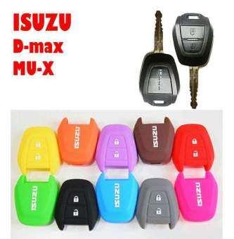 ซิลิโคนกุญแจรถยนต์ ISUZU สีดำ