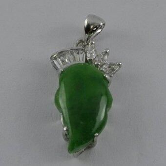 Pearl Jewelry จี้ห้อยคอหยกลูกท้อ PD19