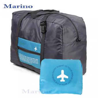 Marino กระเป๋า Flinght Folding Bag 011กระเป๋าสำหรับหิ้วขึ้นเครื่องแบบพับได้ - Blue
