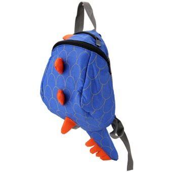 YBC Kids Cartoon Backpack Animals Dinosaurs Bag School Bags Blue