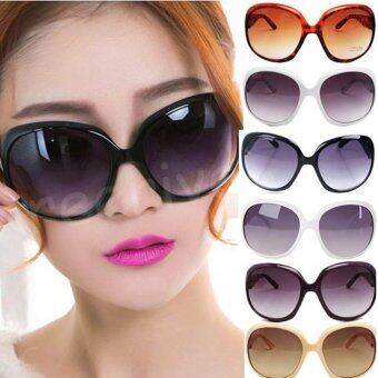 โอ้เซ็กซี่แฟชั่นหลากสีพวกผู้หญิงช้อปปิ้งแว่นตากันแดดแว่นตา Beigm คลาสสิคมาก