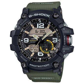 Casio G-Shock นาฬิกาข้อมือผู้ชาย สายเรซิ่น รุ่น GG-1000-1A3