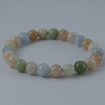 Pearl Jewelry กำไลหินเบริล A38