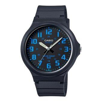 Casio Standard นาฬิกาข้อมือ สายเรซิน รุ่น MW-240-2B