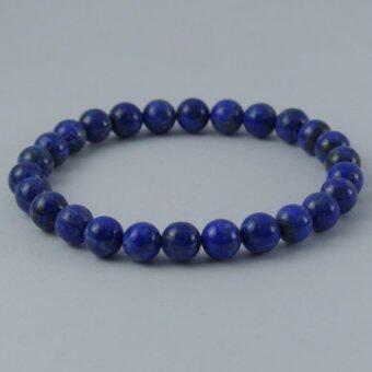 Pearl Jewelry กำไลหินลาปีสราซูลี่ A16