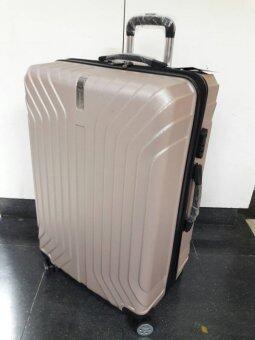 Chang Travel #012 กระเป๋าเดินทางล้อลาก/ Gold color/ขนาด 28 นิ้ว / 2ซิปขยาย/ 4ล้อ