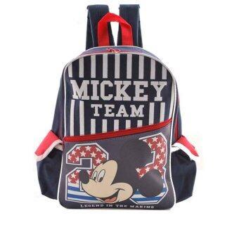 Disney Mickey Mouse กระเป๋าเป้ กระเป๋านักเรียน สะพายหลัง