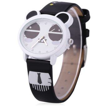 Harga KEZZI K - 666 Kids Quartz Watch Water Resistance Wristwatch (BLACK)
