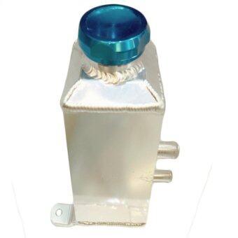 ถังน้ำมัน พาวเวอร์ แบบเหลี่ยม ฝาปิดแบบเกลียว สีฟ้า ความจุ 1.0 ลิตร (ICE BLUE) 84-racing