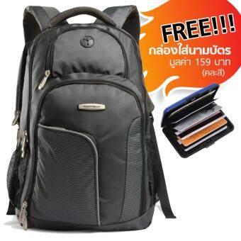 Aspensport กระเป๋าเป้สะพายหลัง ชาย หญิง สำหรับ Laptop 15.6 นิ้ว รุ่น AS-11W06 – Dark grey