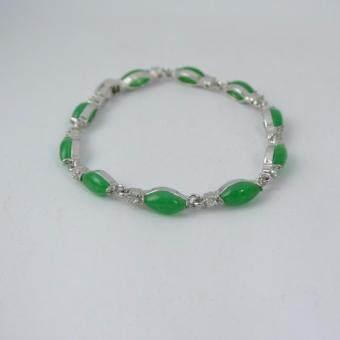 Pearl Jewelry กำไลหยก รูปมาคี นำโชคสิริมงคล