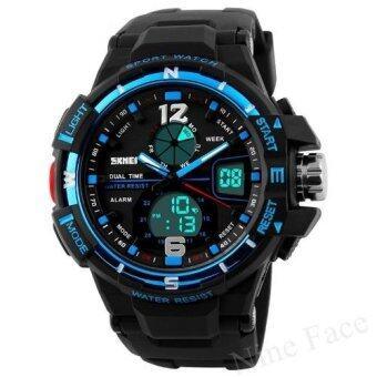 S SPORT นาฬิกาข้อมือ - GB9292 (Black/Blue)